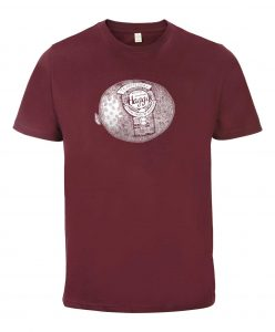 Men's T-shirt with Wee Haggis Illustration by Gillian Kyle