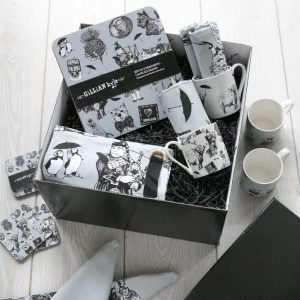 Scottish homeware hamper by Gillian Kyle