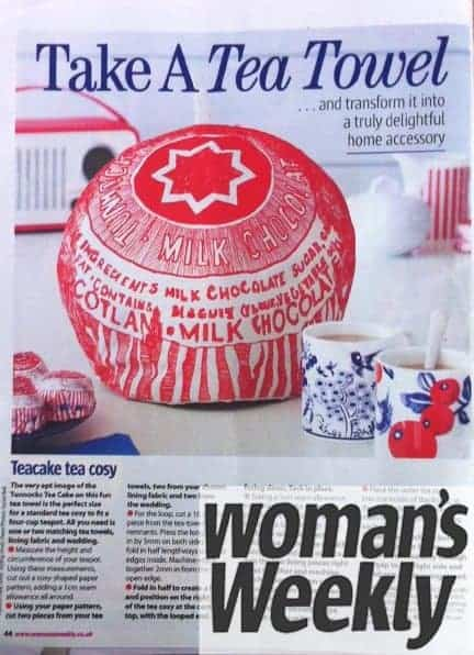 Womans Weekly featuring Gillian Kyle
