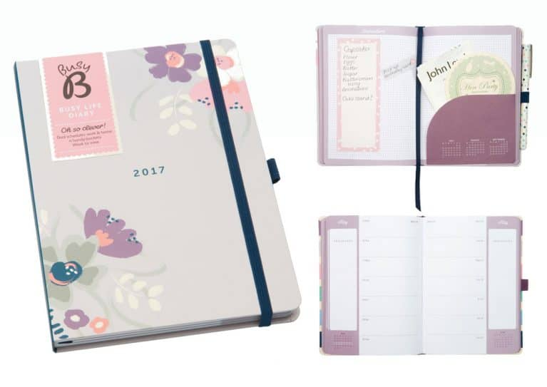 Busy B Diary Free with Every Order