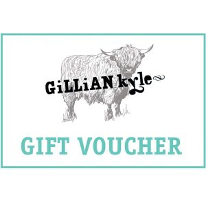 Gift vouchers and Gift Cards from Gillian Kyle