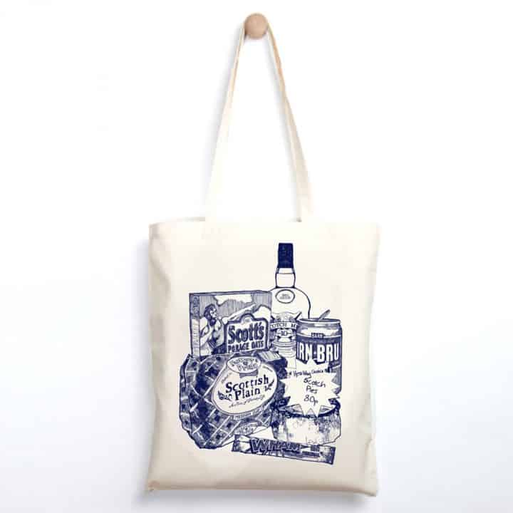 Scottish Breakfast Lightweight tote bag
