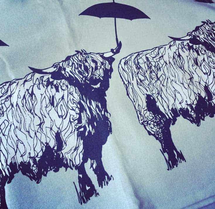 Sneak Peak of new Gillian Kyle Scottish Designs - meet Dougal!!