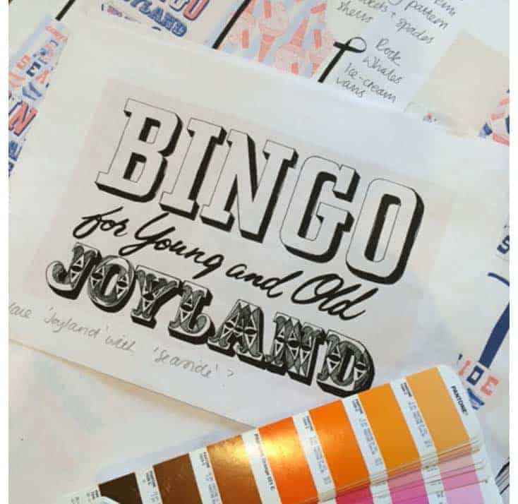 Joyland Seaside Theme by Gillian Kyle