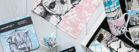 Gillian Kyle Tartan Animals Unique Scottish Gift Range