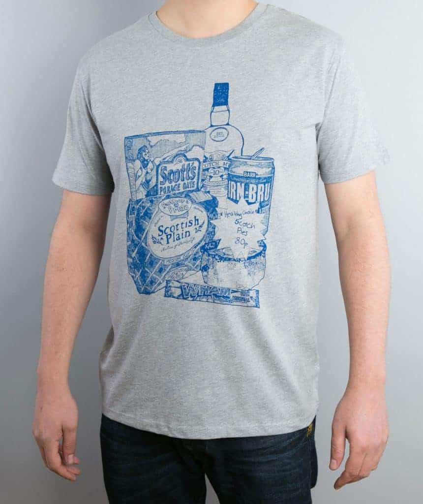 Scottish Breakfast Tee By Gillian Kyle
