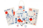 Kitchen Textile Range by Gillian Kyle