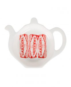 Tea Bag Tidy with Tunnock's Caramel wafer design