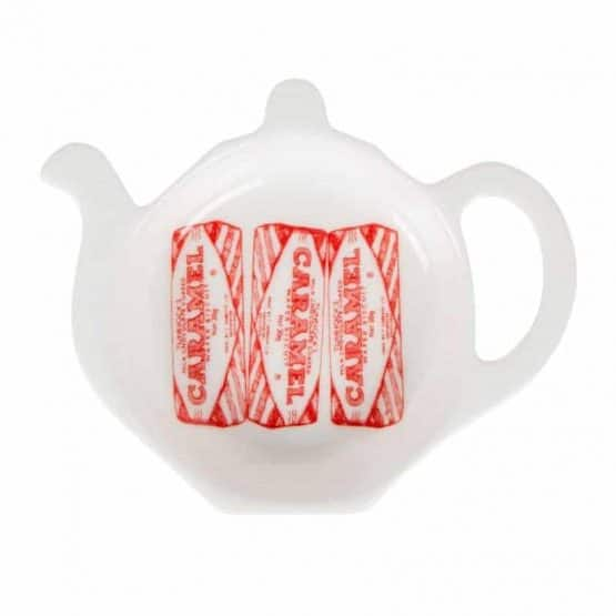Tea Bag Tidy with Tunnock's Caramel wafer design