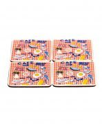 Drinks Coasters with Greasy Cafe Design