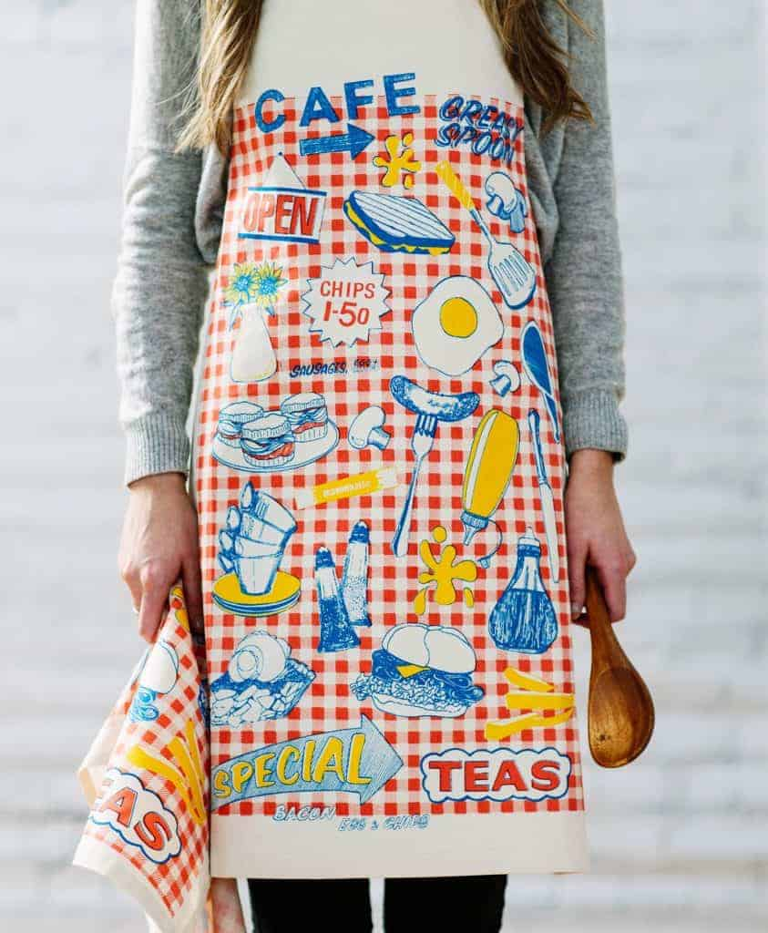Kitchen Apron by Gillian Kyle