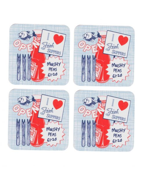 Drinks Coasters by Gillian Kyle