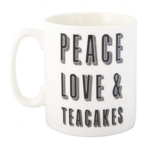 Pease Love and Teackes Mug