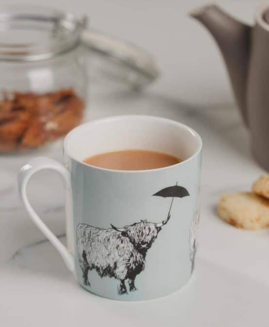 Fine Bone China Mug from Love Scotland Range