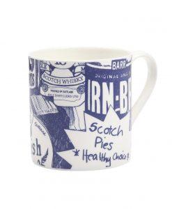 Scottish Breakfast Mug by Gillian Kyle