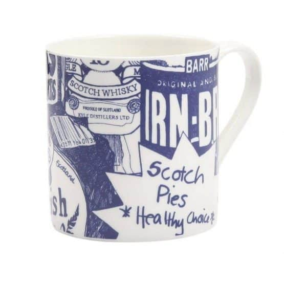 Scottish Breakfast Mug by Gillian Kyle