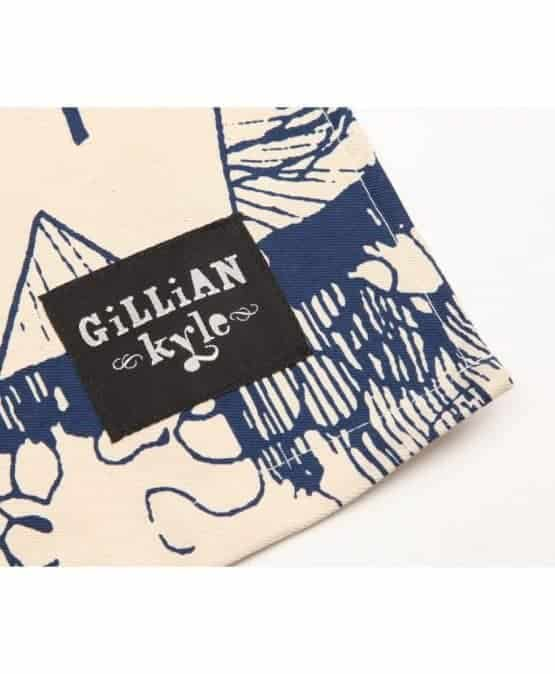 Gillian Kyle Branding Label on Tea Towel