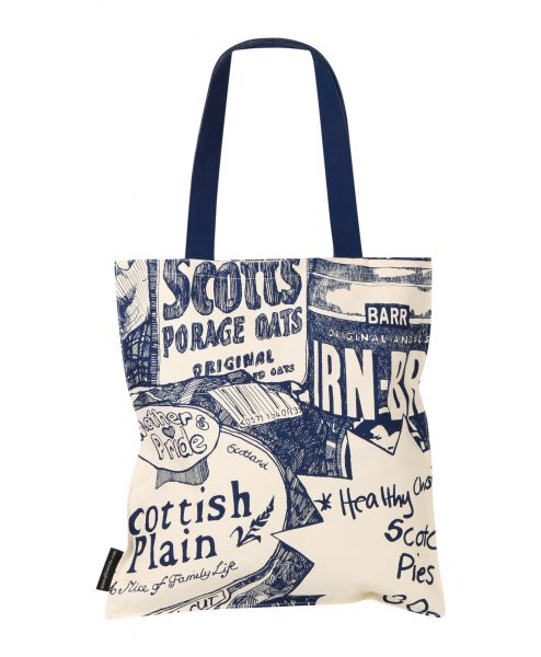 Tote Bags with Sweet Tooth design by Gillian Kyle