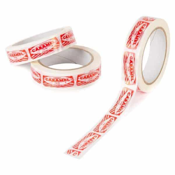 Sticky Tape with Tunnocks Caramel Wafer