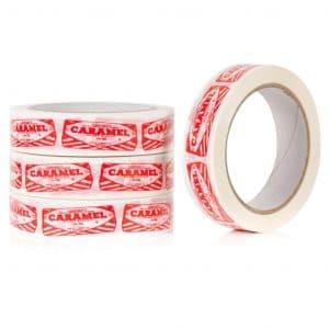 Sticky Tape with Tunnocks Caramel Wafer by Gillian Kyle
