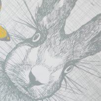 hare framed print by Gillian Kyle