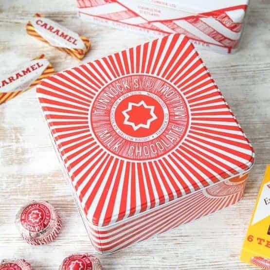 Retro Tunnocks Teacake Biscuit and Cake Kitchen Storage Tin by Giliian Kyle