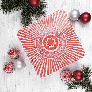 Tunnock's Teacake Biscuit tins by Gillian Kyle
