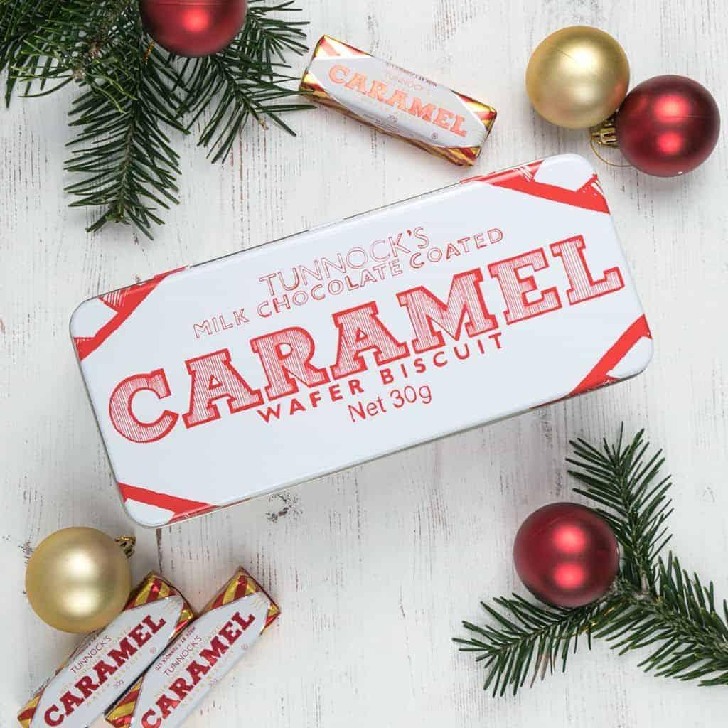 Tunnock's Caramel Wafer Rectangle Tin