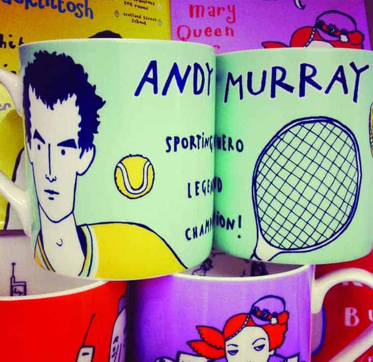 Andy Murray Coffee Cups