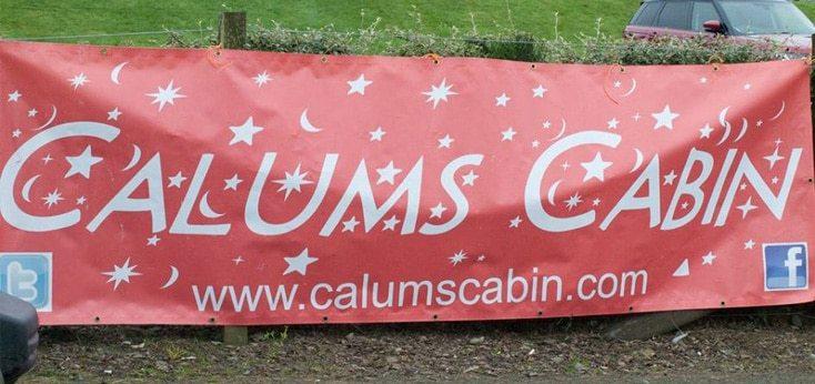 Calums Cabin Banner