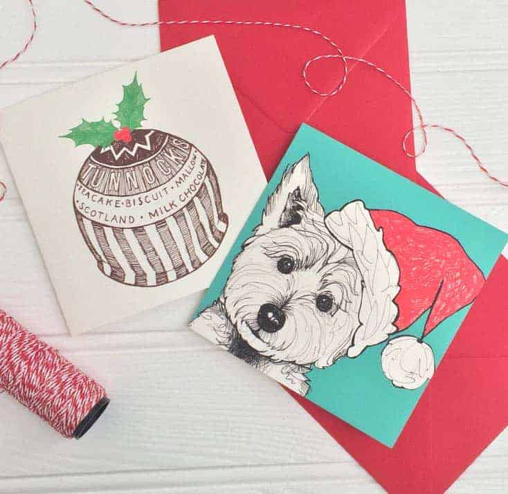 Christmas Cards by Gillian Kyle