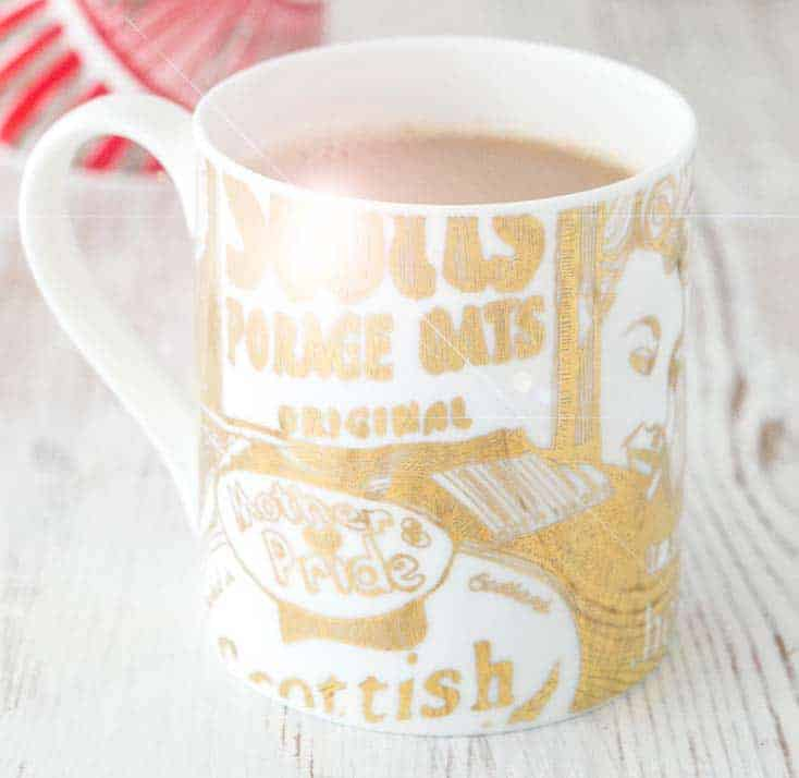Glittering Gold Coffee Mug