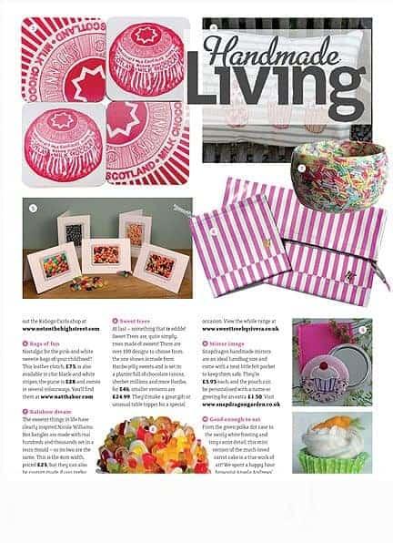 Handmade Living Magazine featuring Gillian Kyle