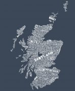 Gillain Kyle, Scottish men's clothing, Scottish unisex clothing, Scottish men's t-shirt, Scottish unisex t-shirt, Scotland map design