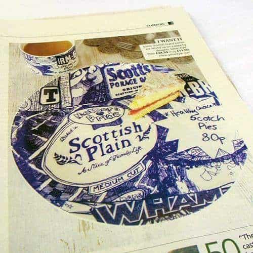 Scotland on Sunday features Gillian Kyle