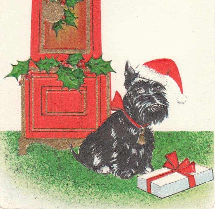 Gillian Kyle's Kitsch Christmas - Scotties and Westies