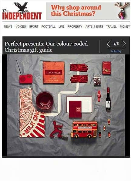 The Independent gift guide featuring Gillian Kyle