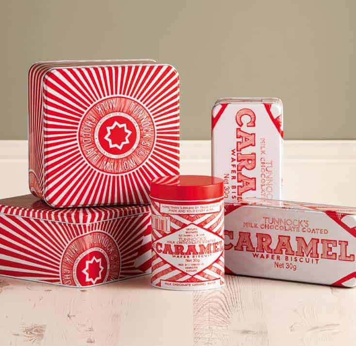 Tunnocks storage tins by Gillian Kyle