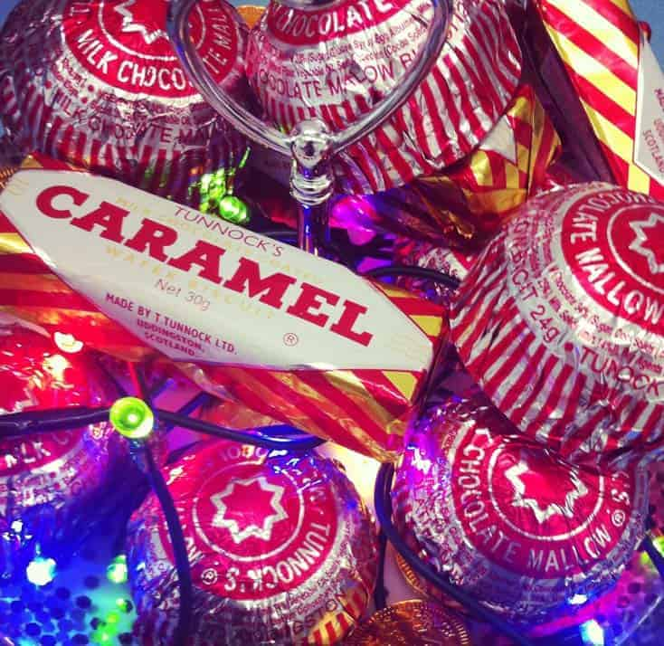 Tunnocks Alternative Xmas Tree