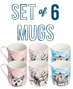 set-of-6-tartan-animals-mugs2