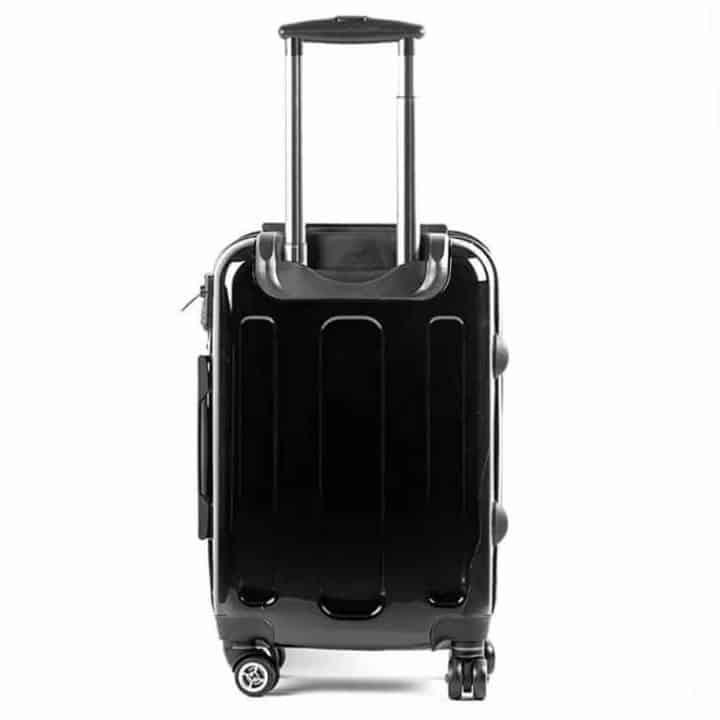 Gillian Kyle suitcase back