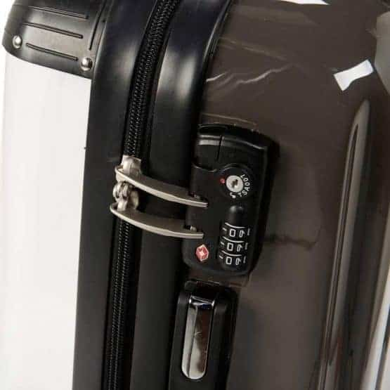 Gillian Kyle suitcase - locks