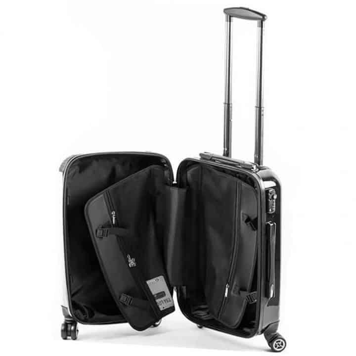 Gillian Kyle suitcase - inside view