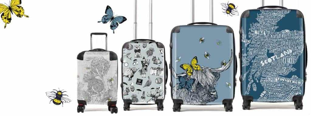 15% off Gillian Kyle Suitcases