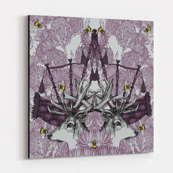 Monarch large canvas print by Gillian Kyle