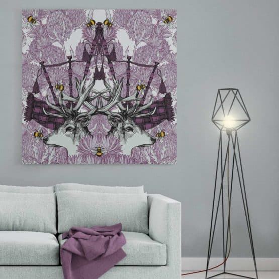 Monarch large canvas print by Gillian Kyle
