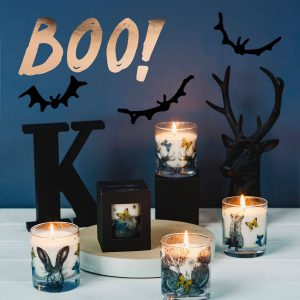 halloween candles from Gillian Kyle