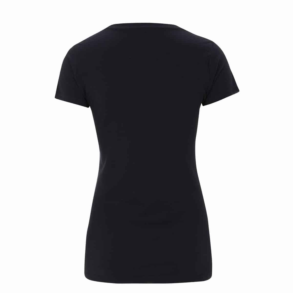 e29121eb301 Gillian Kyle Scottish Clothing Scotland Map Ladies Tee Shirt Navy