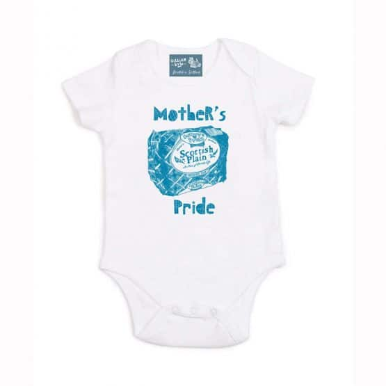 Gillian Kyle, Sottish baby clothing, Scottish baby gift, mothers pride, plain loaf design