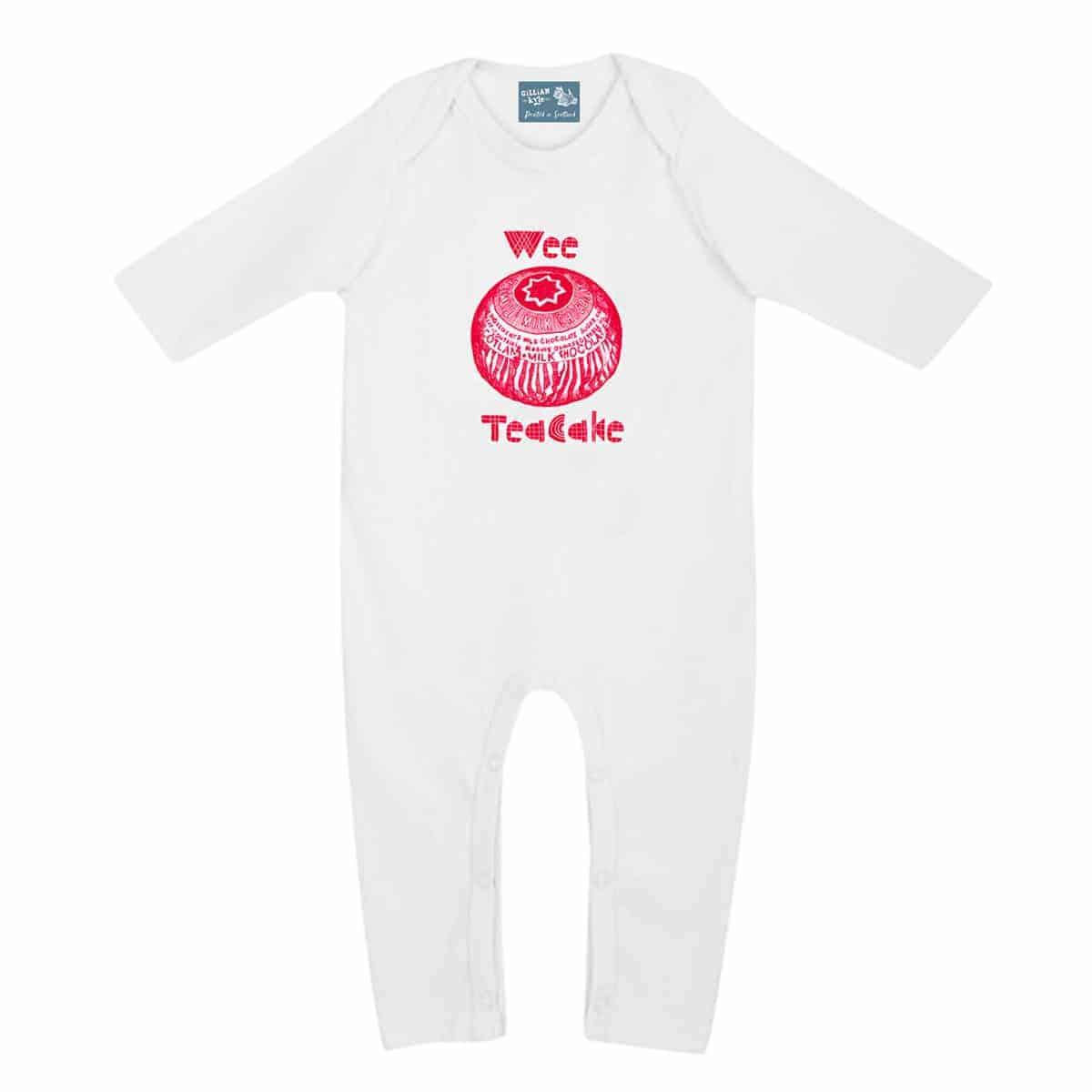 Baby Gifts Quirky : Gillian kyle scottish clothing tunnocks teacake wee baby